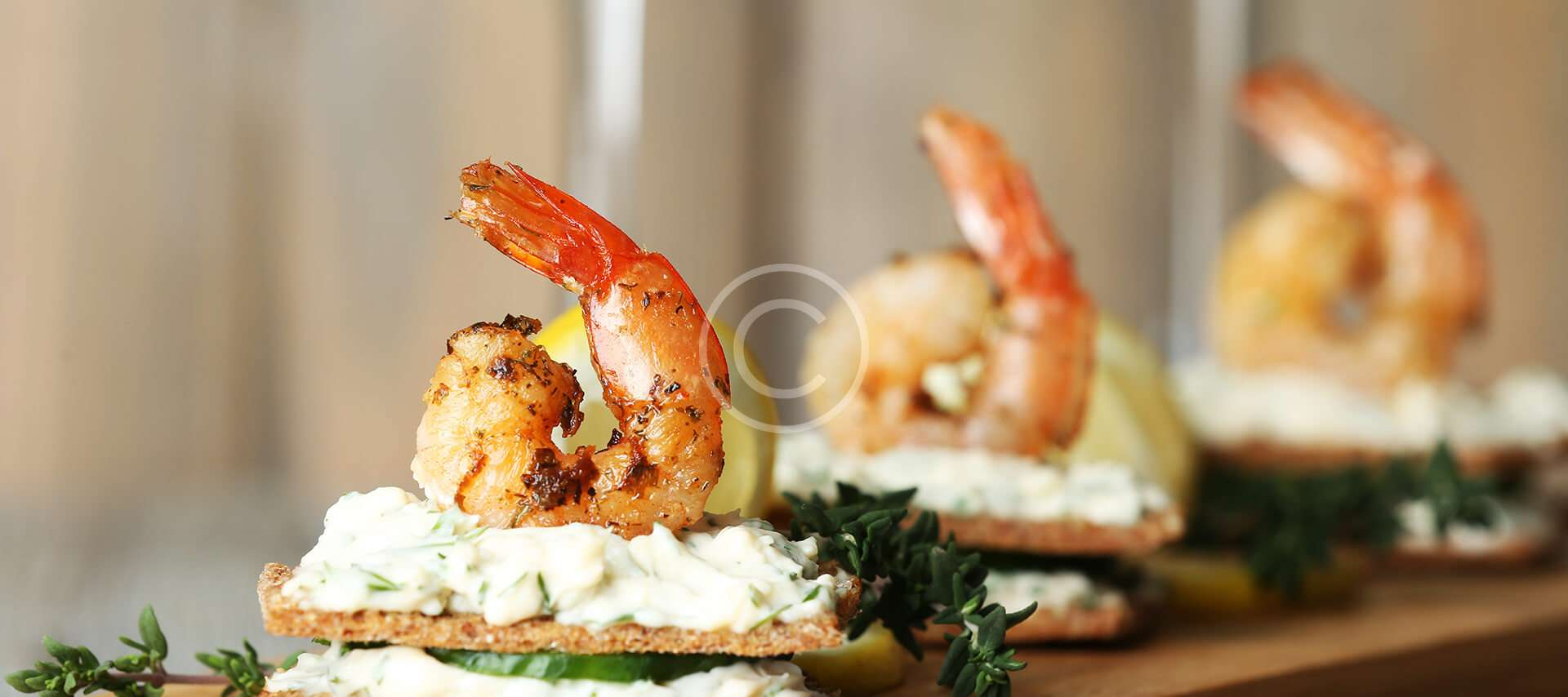 Prawn  And Lime Tartlets